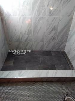 Tiled Shower Pan