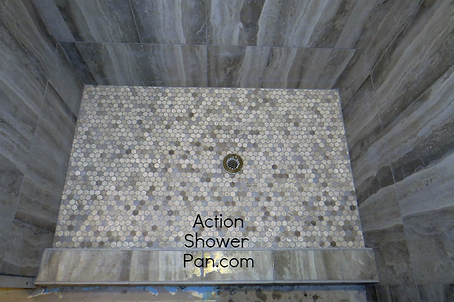 Thornton Shower Pan Installation