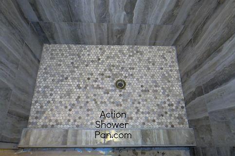 Lakewood Shower Pan Installation