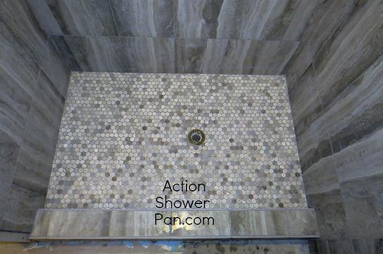 Greeley Shower Pan Installation