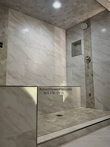 Custom Steam Shower Tile Installation