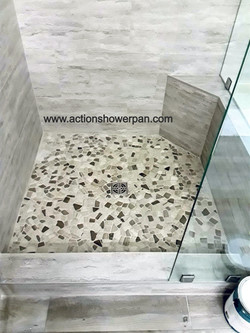 Shower Pan Installation