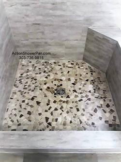 Fort Collins Shower Pan Tile Installation