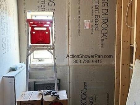 Tile Shower Installation Part 1 Parker, Co