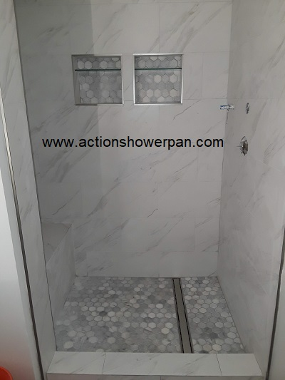 Custom Shower Pan Installer