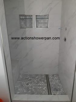 Custom Shower Pan Installer