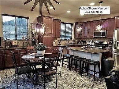 Kitchen Tile Floor Installer