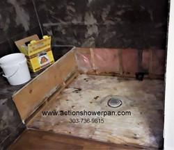 Marble Shower Pan Repair#2