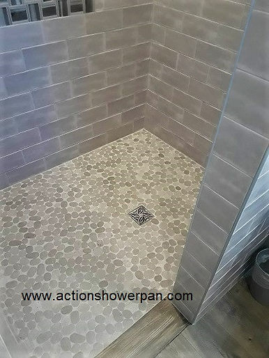 Tile Shower Pan Installation