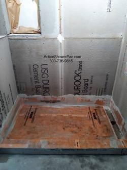 Shower Pan Waterproofing