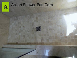 Marble Shower Pan