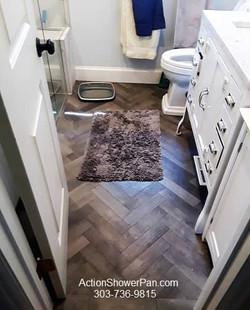 Small Denver Bathroom Remodel