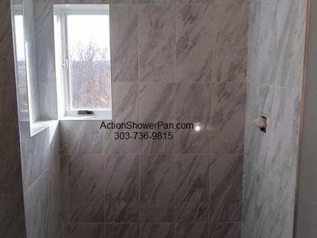 Tile Shower Installation Part 2 Parker,Co