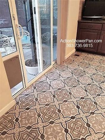 Kitchen Floor Tile Project