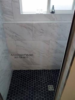 Slate Tile Shower Pan