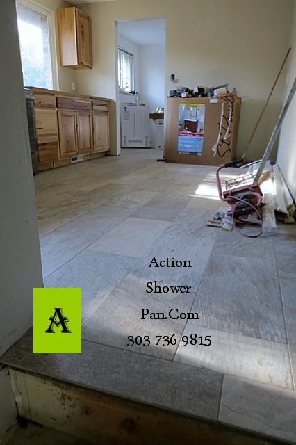 Fort Collins Floor Tile Installation