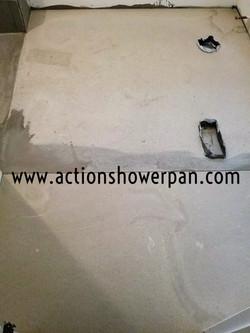 Cement Shower Pan Aurora