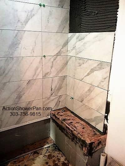 Denver Shower Tile Installation