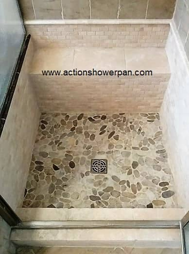 Denver Tiled Shower Pan