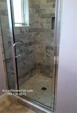 Boulder Shower Tile Project