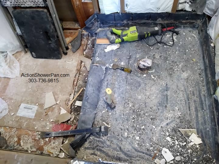 Greeley Shower Pan Removal