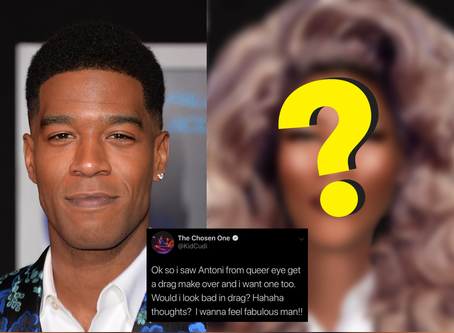 (MUST SEE) Kid Cudi Wanted A Drag Makeover & We Gave Him One!