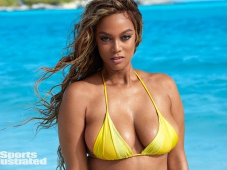 YAAASS QUEEN: Tyra Banks Makes Model Comeback As Sports Illustrated Cover Girl