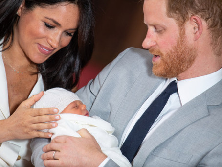 Meghan Markle & Prince Harry Share The First Pictures of The New Royal Baby + Reveal Name!