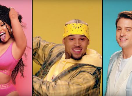 New Video: Chris Brown, Nicki Minaj, & G-Eazy – 'Wobble Up' (WATCH)