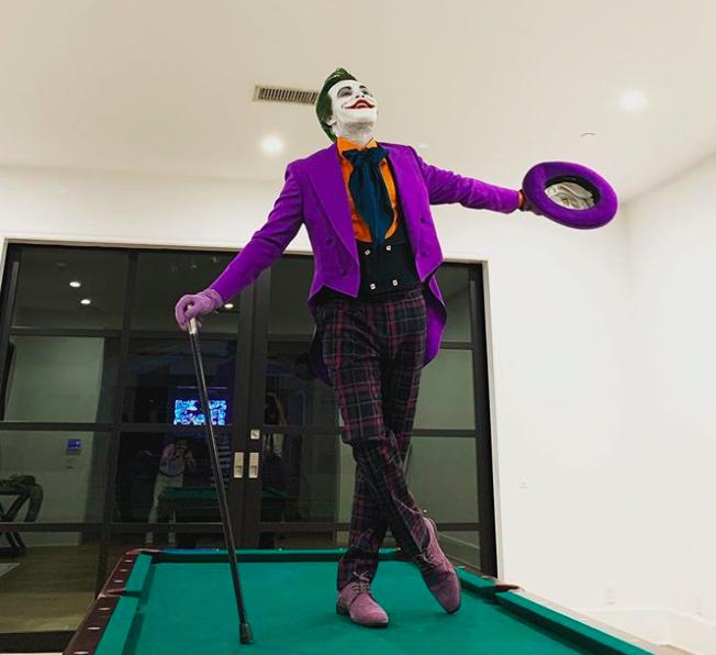 The Weeknd as The Joker