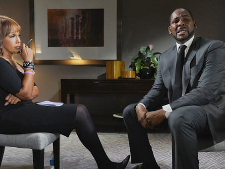 25 of The Best Reactions From R. Kelly's Intense GMA Interview With Gayle King!