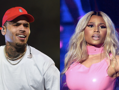 [LISTEN]: Chris Brown And Nicki Minaj Drop NEW Collab 'Wobble Up' + Spark Joint Tour Rumors!