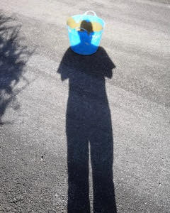 Self Portrait with Bucket