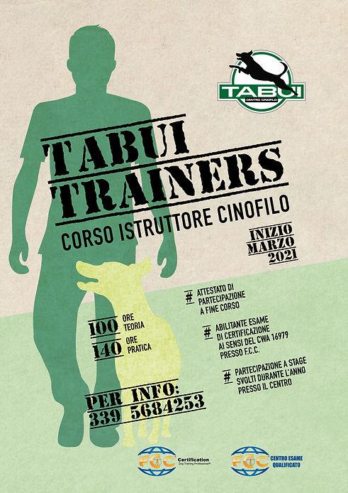 Tabui Trainers locandina3.jpg