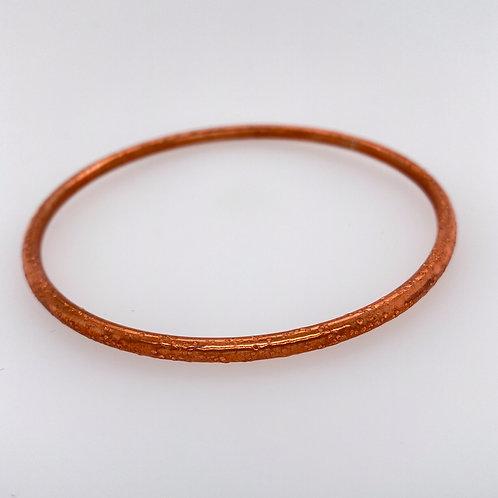 Textured Copper Bracelet