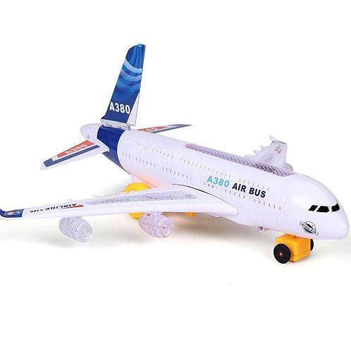 50-700-175 АЭРОПЛАН на батарейках А380