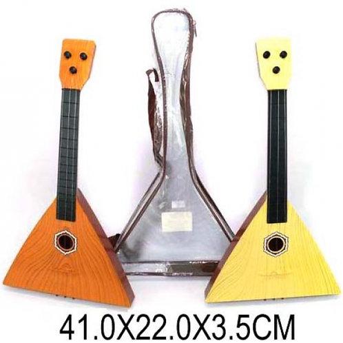 25-001 Балалайка. 3 струны. 41 см. чехол