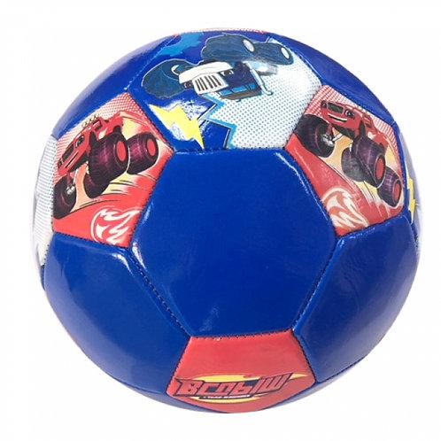 14-846-1 Вспыш. Мяч футбольный. ПВХ 1 слой. 5 р.. камера рез
