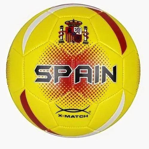 25-273-21 Мяч футбольный X-Match. 1 слой PVC Испания