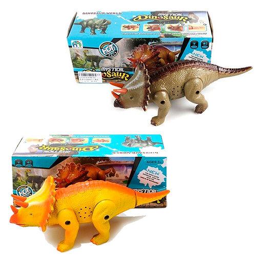 25-201 Динозавр эл.. свет. звук. эл.пит.не вх.в.компл.. в ас