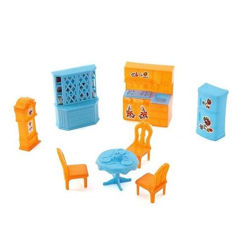 25-370 Мебель для кукольного домика  Счастливый дом. кухня