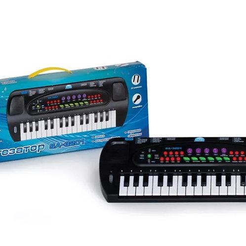 11-414-01 Синтезатор Соната с микрофоном. руссиф.. инструк