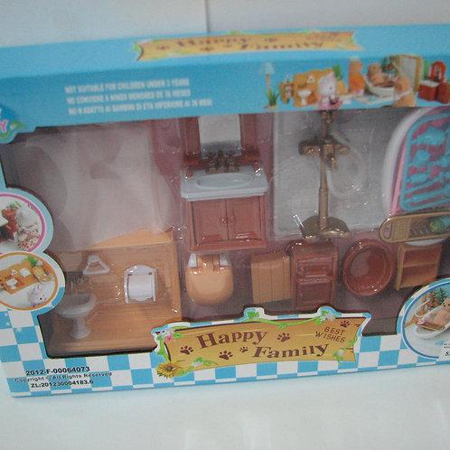 50-199-75 Набор мебели для кукол Ванная (в кор. 36 шт.)