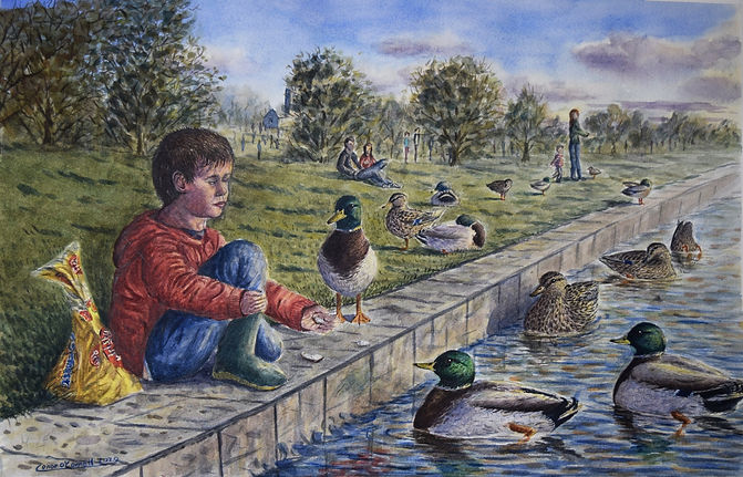 O'Connell- Feeding the Ducks.jpg