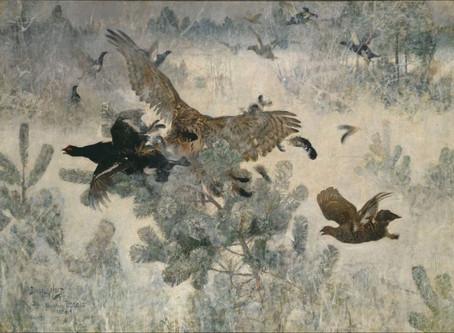 Top 5 artists that inspire me: 5. Bruno Liljefors (1860-1939)