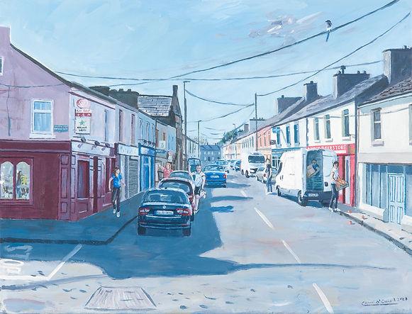 Ballaghaderreen street co. roscommon main street
