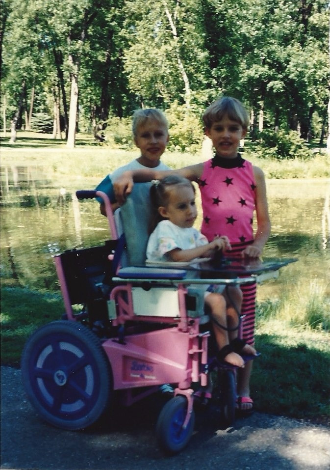 My sisters and I at the park