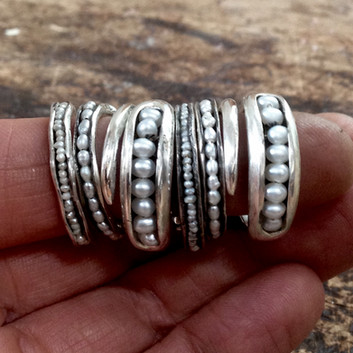Pearl Ring Stack