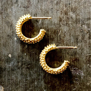 Granulated Hoops