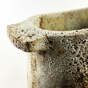 Stoneware Pot Close-Up